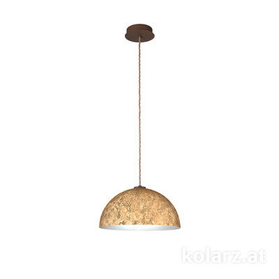 A1339.31.Co.VinAu/40 Corten, Ø40cm, Height 20cm, Max. height 270cm, 1 light, E27
