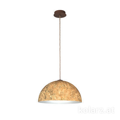 A1339.31.Co.VinAu/50 Corten, Ø50cm, Height 25cm, Max. height 275cm, 1 light, E27