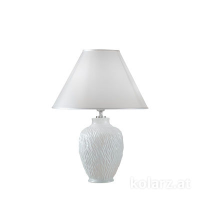 A1340.70 White, Ø30cm, Height 43cm, 1 light, E27