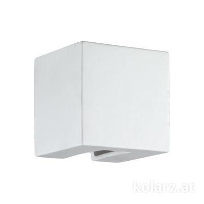 A1343.61.1 Weiß, Breite 11cm, Höhe 11cm, 1-flammig, G9