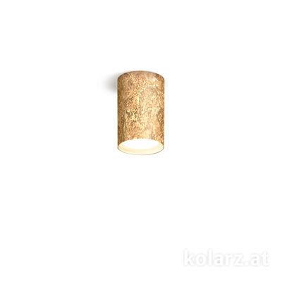 A1347.11.VinAu/10 24 Carat Gold, Ø8cm, Height 10cm, 1 light, GX53