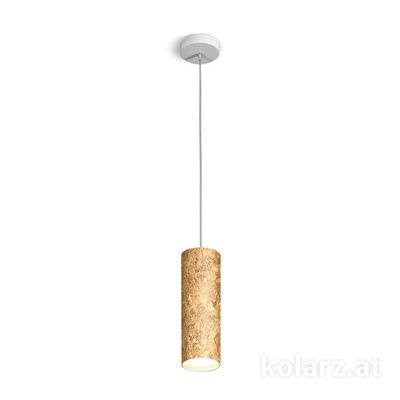 A1347.31.VinAu/23 Gold, Ø8cm, Height 23.5cm, Min. height 150cm, 1 light, GX53