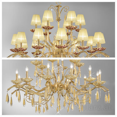 pseudo-34 Passion for light: These charming crystal chandeliers from our traditional workshops show classical opulence in a fresh new look