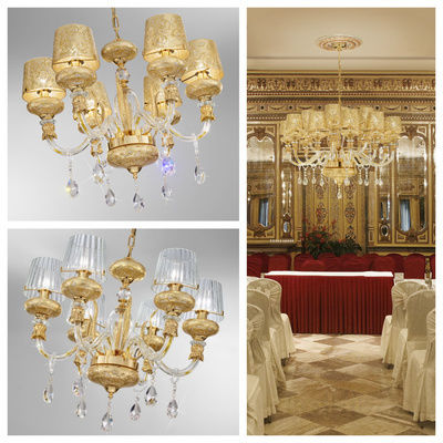 pseudo-40 This exquisite elegant chandelier shows a charming mix of Murano glass, leaf gold, sparkling crystals and brilliant brass