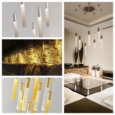 pseudo-6 Metal meets finest Murano glass: a brilliant contemporary lighting solution in a pure and refreshing look.