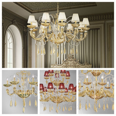 pseudo-41 Precious classical chandeliers, handcrafted from finest Murano glass. Inspiring masterpieces adding the wow factor to any room.